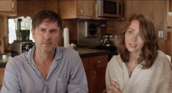 Still from Amanda and Jack Go Glamping