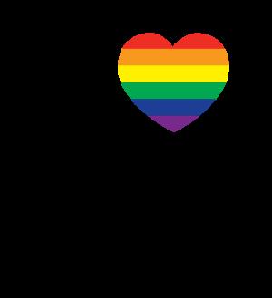 LGBT Logo transparent stacked