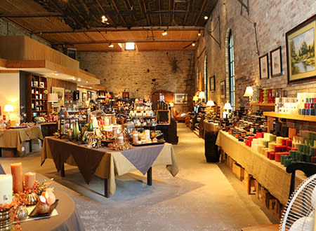 The Candle Factory Interior