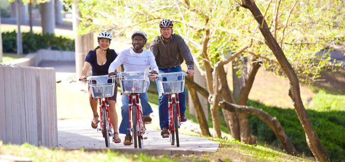 Houston Green Transportation Bicycle Riders