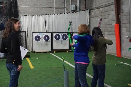 Archery at the Eau Claire Sport Warehouse
