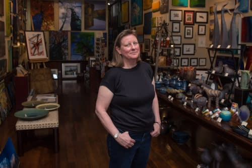 Jean Leigh of The Leigh Gallery in Chicago
