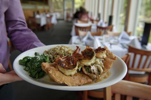 Seafood at Restaurant des Familles