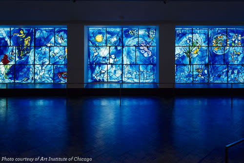 Chagall Windows, Art Institute of Chicago