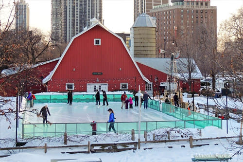 Lincoln Park Zoo ice skating