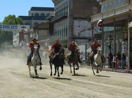 Gold Rush Days happens in Old Sacramento every Labor Day weekend.