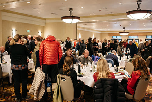 Atmosphere at Economic Update Luncheon