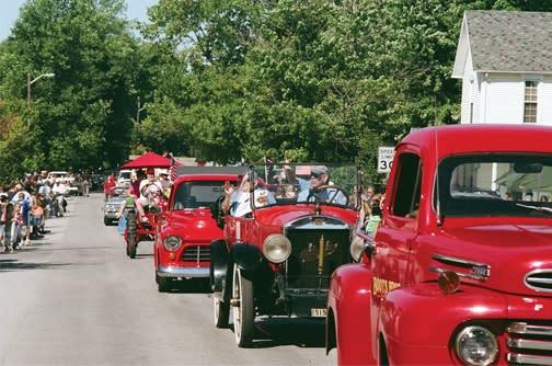 North Salem Old Fashion Days parade