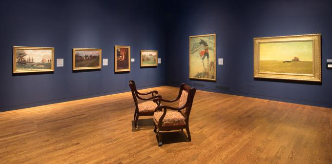 Delaware Art Museum Pyle Gallery
