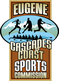 Eugene, Cascades & Coast Sports Commission Logo