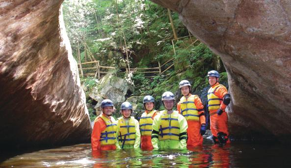 Natural Stone Bridge and Caves Park