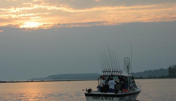 Charter at sunrise.JPG
