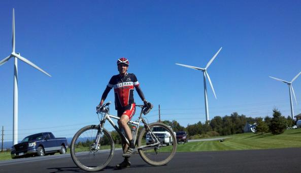 Bicycling Lewis County