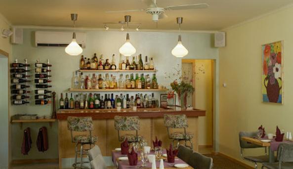 full bar & wine cellar