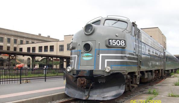 Adirondack Scenic at RR at Union Station