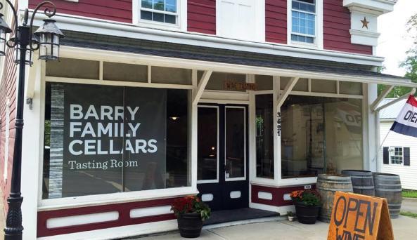 Barry Family Cellars Tasting Room