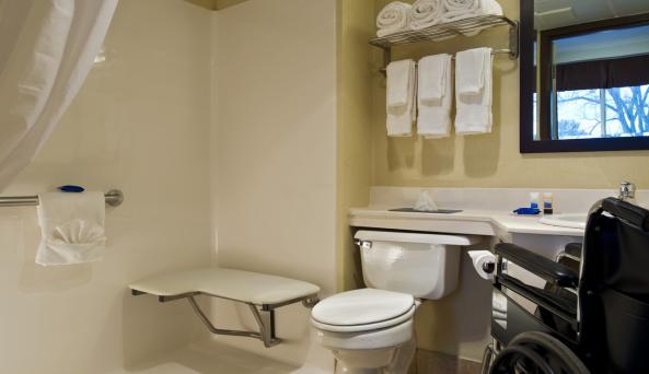 Guest Bath Accessible