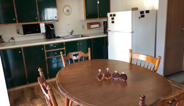 Cedar Valley Guest Room Kitchen