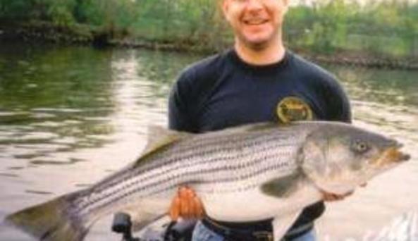 Upstate Charters Chris's Striper