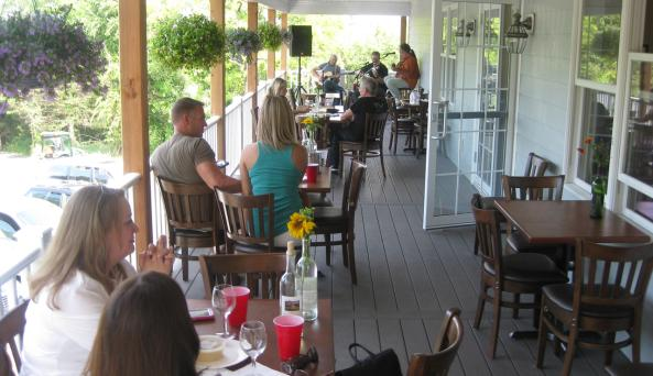 Clearview Vineyards Porch