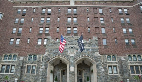 The Historic Thayer Hotel at West Point