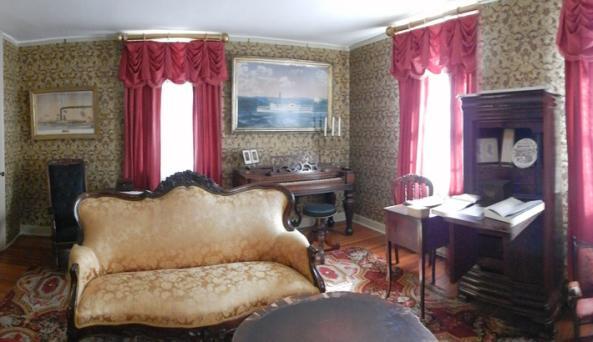 Victorian Parlor at Kingsland Homestead