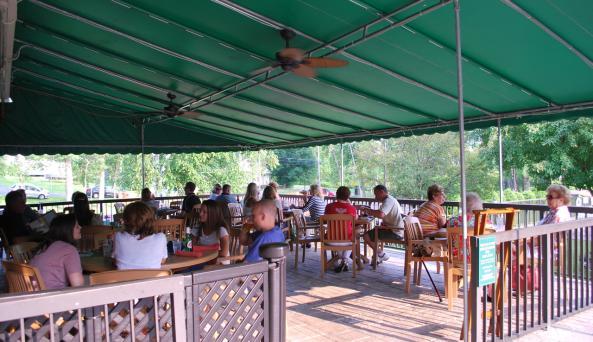 Holiday Inn Restaurant Deck