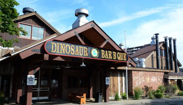 Dinosaur in Troy