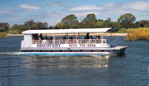 Discovery Wetlands Cruise - Photo Courtesy of the Ward Melville Heritage Organization