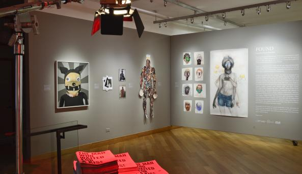 FOUND: Queer Archaeology; Queer Abstraction Installation View