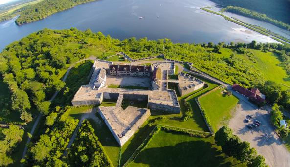 Fort Ticonderoga Aerial