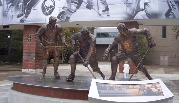 The French Connection Statue
