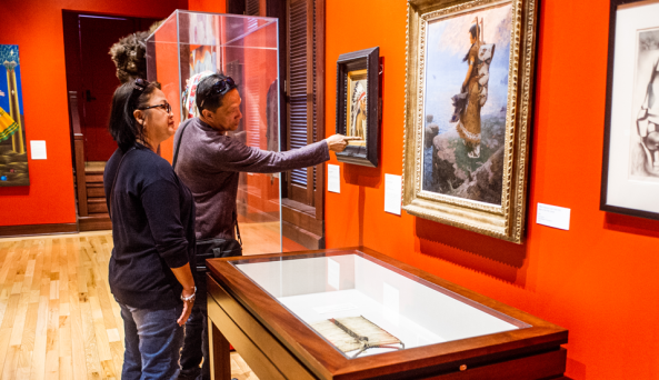 Explore art about the American experience