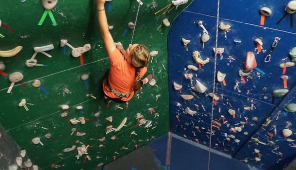 The Inner Wall Climbing