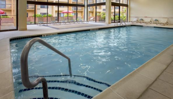 Enjoy our indoor heated swimming pool