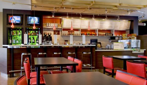 The Bistro offers breakfast, dinner & evening bar