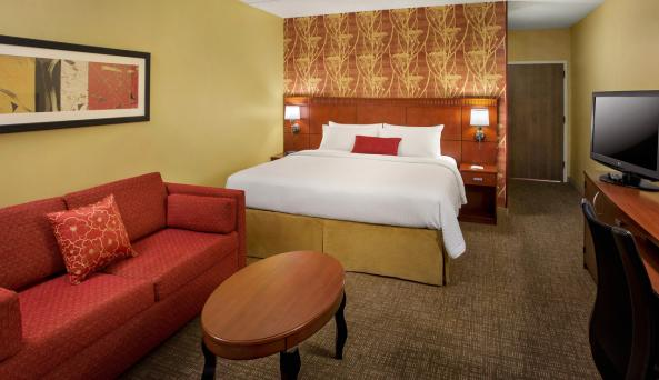 Spacious and comfortable guest rooms
