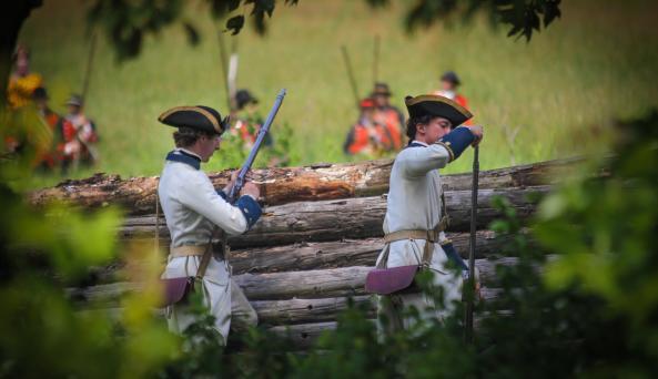 Montcalm's Cross - 1758 Battle Of Carillon Reenactment