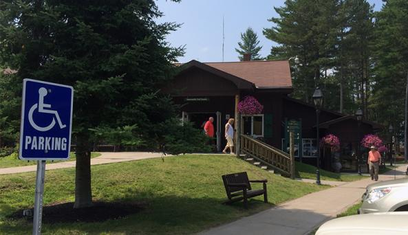 Inlet Information Center, Inlet, NY