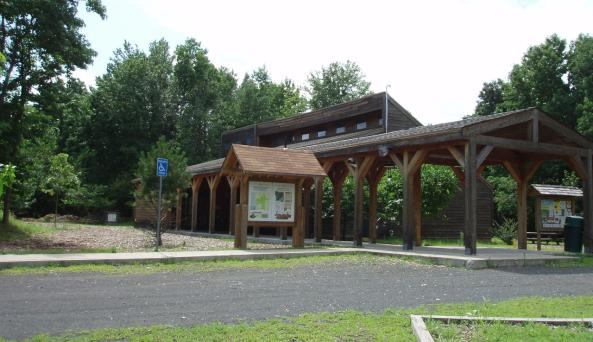Interpretive Center at Clay Pit Ponds State Park Preserve