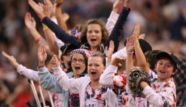 Bisons games are a great option for families.