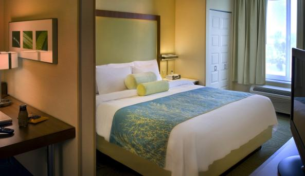 Our guest rooms are suites, offering separate living and sleeping areas