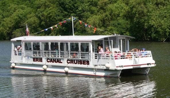 Erie Canal Cruises - Photo Courtesy of Erie Canal Cruises