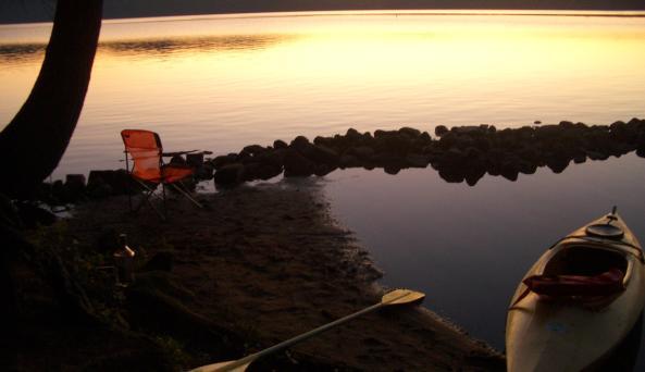 Lake Eaton Dtate DEC Campsite