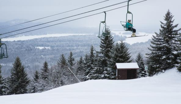 McCauley Mountain Ski Center - Photo by Kurt Gardner