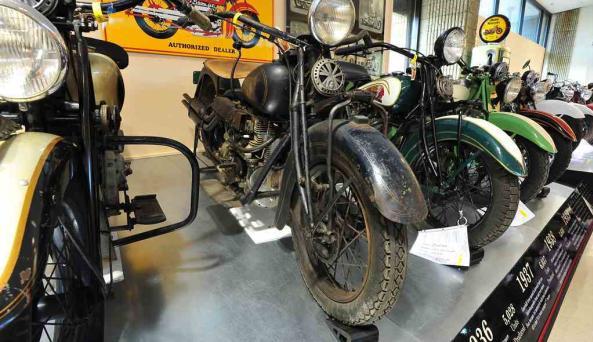Motorcyclepedia Indian Motorcycle Display