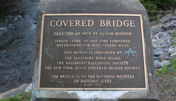 Salisbury Bridge sign