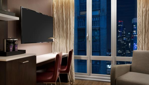 Room with a City View