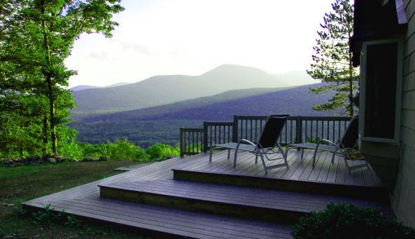 Onteora Mountain House Deck