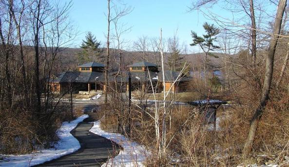 Sterling Forest State Park Visitor Center Winter
